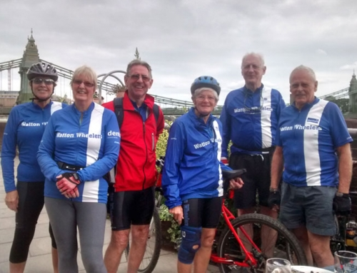 THAMES RIDE – SUNDAY 13TH SEPTEMBER 2015