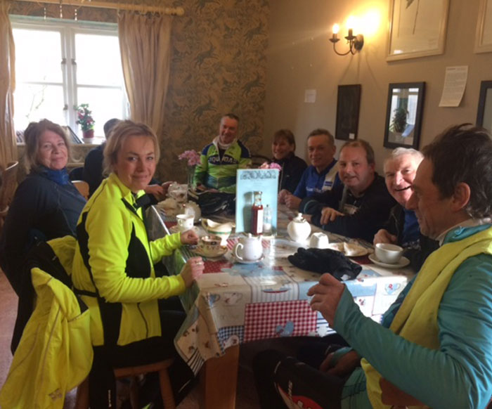 Watton Wheelers Valentines Ride