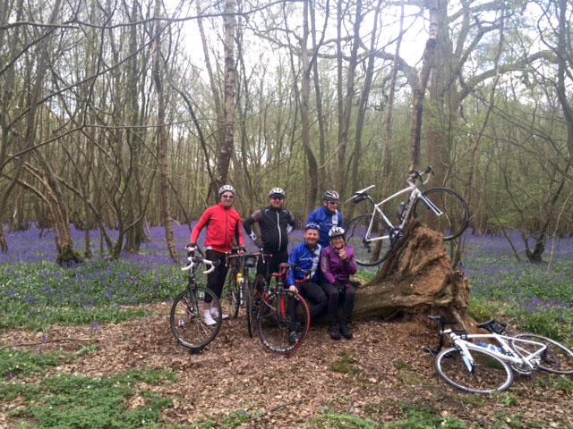 Watton Wheelers in Woods