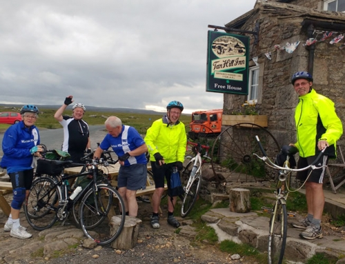 WATTON WHEELERS VISIT TO THE YORKSHIRE DALES 3rd – 5th JULY